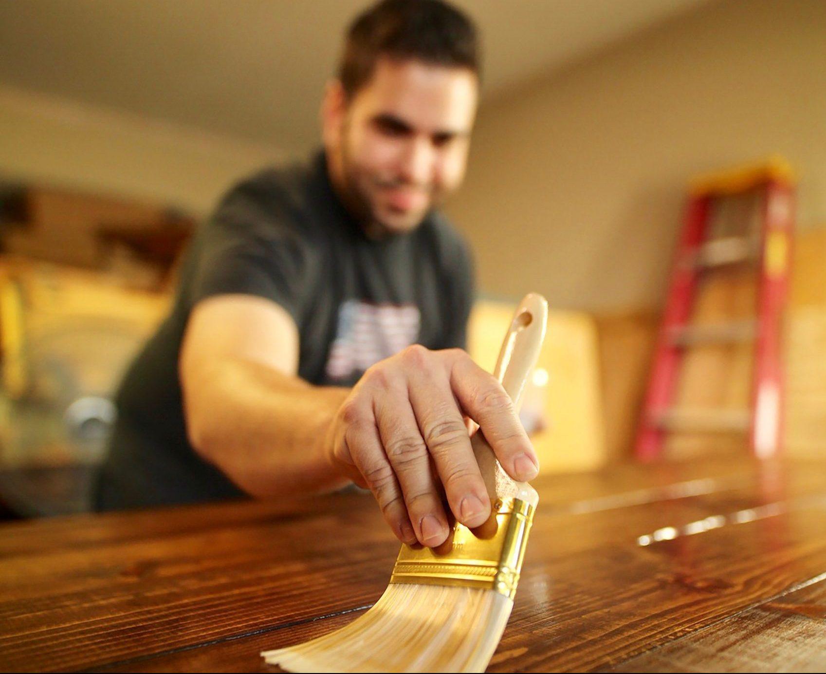 Repurposing Old Furniture - Staining Wooden Furniture - Johnson, Iris