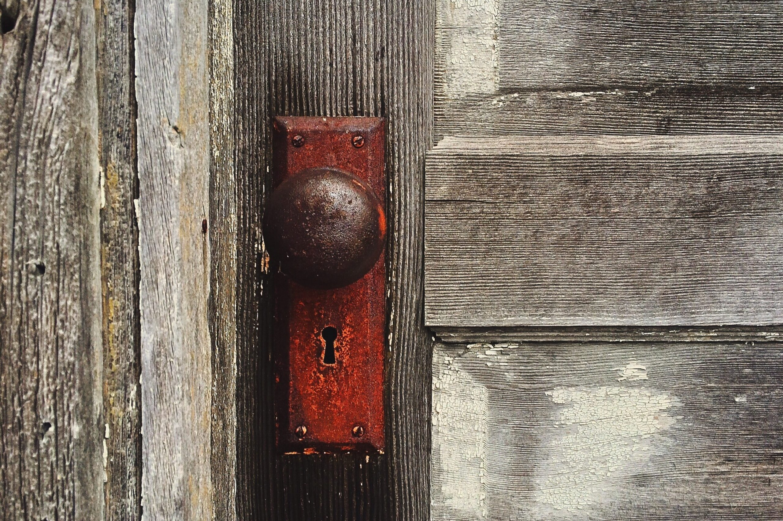 Types of Door Knobs - Paint Covered Overalls