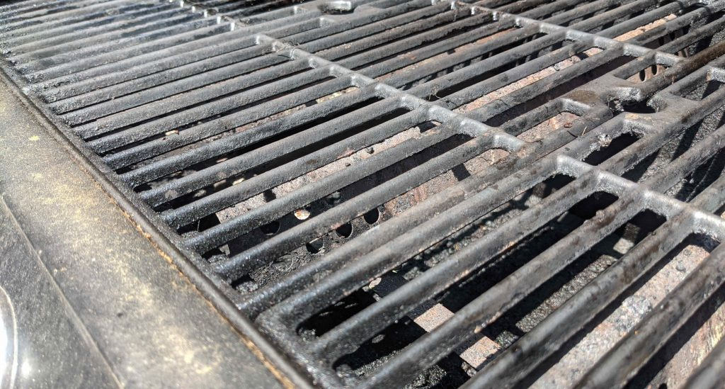 Grill Cleaning and Maintenance - Shefter, Stuart - Paint Covered Overalls - Durham North Carolina