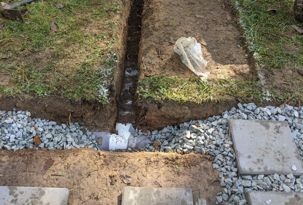 Tips to Improve your Drainage - Shefter, Stuart - Paint Covered Overalls - Durham NC